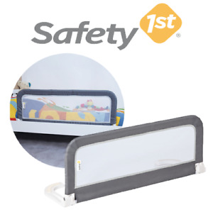 Safety 1st Adjustable Portable & Foldable Travel Kids Bed Rail Guard - Grey