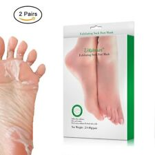 Foot Peel Mask Exfoliant Soft Feet Exfoliating Booties Men Women 2 Pairs