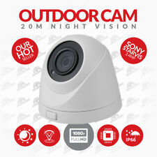 CCTV Dome Camera Starvis 1080p HD  Sony 2.4MP 3.6mm Lens HYBRID 20M  Nightvision