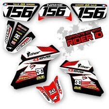 PW 50 1990 - 2015 GRAPHICS KIT YAMAHA PW50 MOTOCROSS DIRT BIKE THICK DECALS