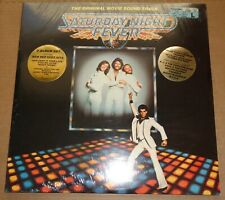 Bee Gees SATURDAY NIGHT FEVER Soundtrack - RSO RS-2-4001 SEALED + Hype Stickers