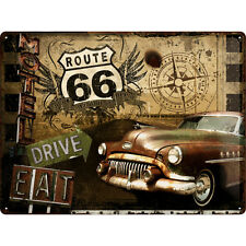EE.UU. Vintage Repro PANEL ABOLLADURAS AÑOS 50 Car automoción PUBLICIDAD Buick