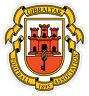 Gibraltar Gibilterra football calcio adesivo etichetta sticker 10cm x 11cm