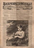 1867 Harper's Weekly July 20-Louisiana Acadian;Harvesting in South;Franklin ship