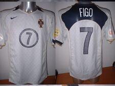 Portogallo LUIS FIGO Madrid Nike Maglia Jersey Calcio in adulto XXL EURO 2004