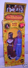 #4527 Nrfb Vintage Mego The Waltons Johnboy & Ellen Dolls