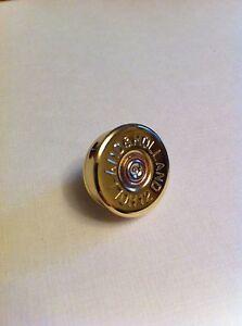 Holland & Holland shotgun shell cartridge cap lapel pin - tie tac game and clay!