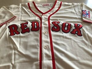 Mitchell & Ness Cooperstown Collection 1939 Red Sox Ted Williams Jersey Mens XL
