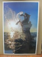 Vintage poster Sea Horse 1977 Inv#G604