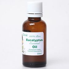 100% Pure 30ml Organic Undiluted Eucalyptus Essential Oil Suani Aroma Therapy