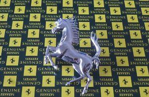 GENUINE Ferrari 208 Turbo 328 348 512M Mondial Front horse badge P/N 63603800