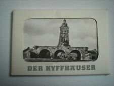 uraltes s/w DDR Leporello  DER  KYFFHÄUSER  von 1978