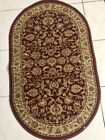A Regal Collection Rug (Red Floral) Carpet