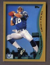 1998 Topps #360 Rookie Card RC Reprint Peyton Manning COLTS