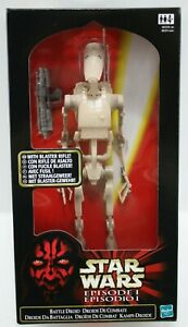 Star Wars Episode I - 12 Inch Action Figures: BATTLE DROID - Hasbro