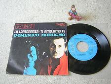 """Domenico MODUGNO La lontananza/Ti amo, amo te 1970 ITALY 7""""+ps RCA PM 3525"""