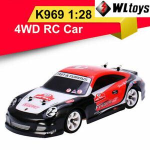 RC Car 1:28 Four-wheel 4WD Off-road 2.4G 30km Kids Children Toys Wltoys K969