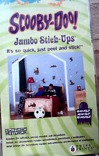 Scooby-Doo! Jumbo Peel and Stick-Ups Removable Wall Art Decal Stickers