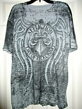 Affliction gray black Day of Reckoning Fedor vs Arlovski  t-shirt mens Size XL