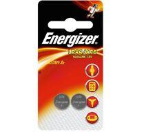 Lot 2 Piles boutons LR44 / A76 ENERGIZER 1,5 Volt Alkaline