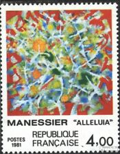 Frankrijk 2298 gestempeld 1981 Alfred Manessier