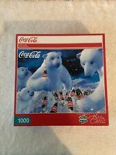 Coca Cola Polar Bears Buffalo Games 1000 Piece Jigsaw Puzzle