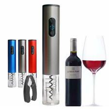 New listing Electric Wine Bottle Opener Automatic Corkscrew Cordless Cutter Opening Kit