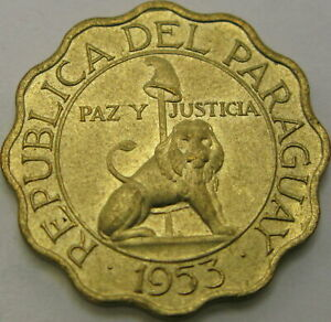 PARAGUAY 25 Centimos 1953 - XF - 1758 ¤