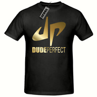 Gold Dude Perfect Youtuber Childrens tshirt,DP Childrens You tube Gaming tee