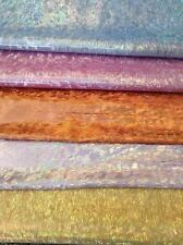 Holograph Metallic Tissue Lame' Fabric