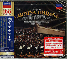 SEIJI OZAWA-ORFF: CARMINA BURANA-JAPAN SHM-CD D46
