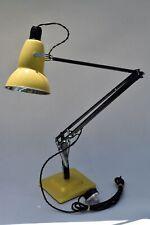 Superb restored original Herbert Terry Anglepoise desk light lamp braid flex