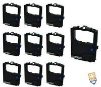 10 For OKI MICROLINE ML182 ML193 ML320 ML321 3320 Black Ribbon 2455RN 09002303