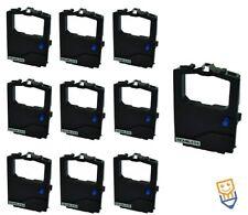 10 x OKI MICROLINE CASSETTES ML182 ML193 ML320 ML321 3320 Black 2455RN NON OEM