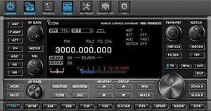 Icom RS-R8600 Remote Control Software
