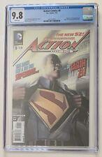 ACTION COMICS #9 2nd App & Origin of Cal Ellis (Superman of Earth-23) CGC 9.8 WP