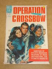 MOVIE CLASSICS #1 VFN (8.0) DELL COMICS OPERATION CROSSBOW DECEMBER 1965