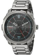 NEW Diesel DZ1738 Men's Machinus NSBB Grey Stainless Steel Watch