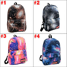 Star Galaxy School Bag Backpack for Teenage Girls Kids Unisex Collection Canvas