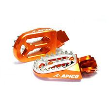 Apico Pro-Bite MX Foot Pegs - KTM SX50/65/125/150/250 SXF250/350/450 EXC/EXC - O
