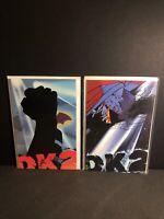 Dark Knight Strikes Again # 1 & 2 TPB GN BATMAN DK2 2001 DC Comics NEW UNREAD NM