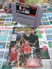 Super Nintendo SNES:Tecmo Super NBA Basketball [TOP & 1ERE EDITION] US