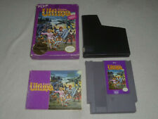 BOXED NINTENDO NES GAME ULTIMA EXODUS RARE COMPLETE W BOX & MANUAL FCI