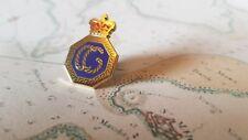 HM Coastguard Gold Finish Die Struck Lapel Pin / Tie Pin *New*