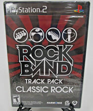 Rock Band Track Pack Classic Rock Sony PlayStation PS2 2009 New Factory Sealed
