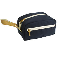 ABSCENT Mini Toiletry Bag Navy SMELL PROOF ODOR ABSORBING SKUNK PROOF CARBON BAG