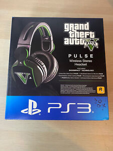 Official Sony Grand Theft Auto V Pulse Elite Wireless Stereo Headset PS3