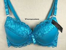 ONE New Womens Plus Size Push Up Lace Bra UnderWire Underwear Top 34-42 D #009