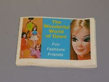 Topper Dawn Doll, The Wonderful World of Dawn Fashion Book Vintage