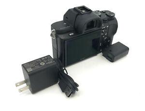 Sony Model Alpha a7II ILCE-7M2 Full-Frame Mirrorless Camera Black #V8485
